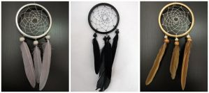 Mini dreamcatchers by SaQe