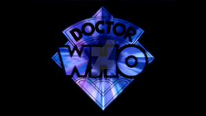 Doctor Who 50th Anniversary Logos: Fourth Doctor by BlackLanternDaddy