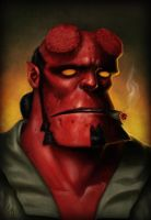 Hellboy by kedemel