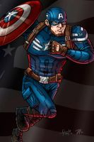 Captain America by stayte-of-the-art