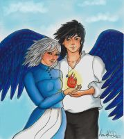 Howl's Moving Castle by Loyane