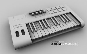 MAudio Axiom25 Project 2 by 3DEricDesign