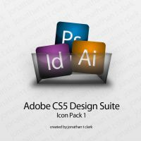 Adobe CS5 Glossy Icons by Jtclark84