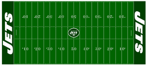 1998-1999 Jets football field by Chenglor55