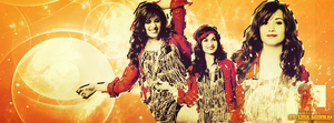 Demi Lovato Cover Photo by Lisa-Minna