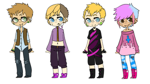 Little Punk Adopts -CLOSED- by DeerestHammy