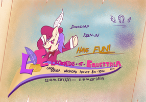 Legends of Equestria - 8/2014 Open Server Weekend by chainchomp7