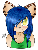 .:gift:.gaia the wolf by Laurathedog