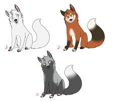 Point Adoptables - Fox by The-Chibster