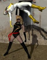 Ms. marvel victorious by cattle6