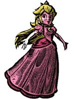 princess peach by Erkillers