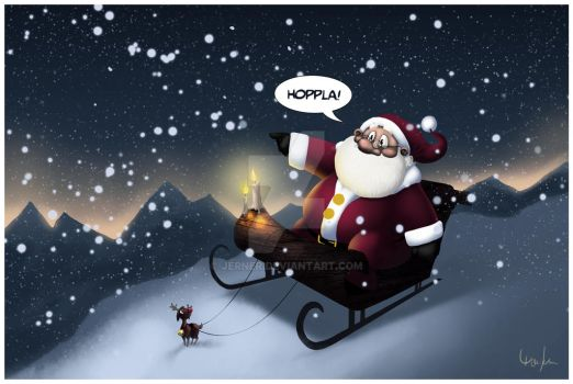 Christmas card by Jerner