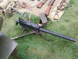 Browning Machine Gun by BlitzkriegShepherd44