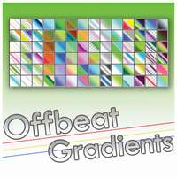 Offbeat Gradients by Lydia-distracted