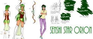 Reference Senshi Star Orion by MissLey