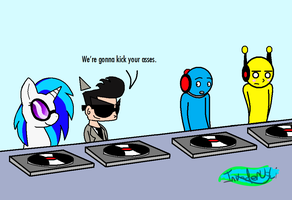 DJ Wars by MochiFries