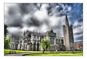 St. Patricks Cathedral HDR by Billabonger