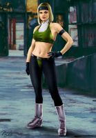 Mortal Kombat - Special Forces (BETA): Sonya Blade by JhonatasBatalha