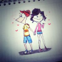 Amor phinbella adolecente by amy-izzy13