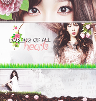 taeyeon . darling of hearts by chanioy
