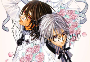 Vampire Knight - Zero Kiryuu And Kaname Kuran by LovesNeko
