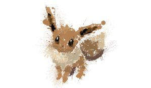 Paint Drip Eevee v2 by ImpersonatingPanda