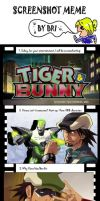 Screenshot meme - Tiger and Bunny by Mia-Lapera