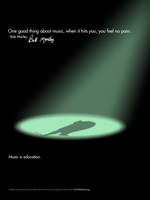 Music is education poster 2 by H1ppym4n