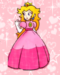 Sparkle Peach by PeachThePrincess