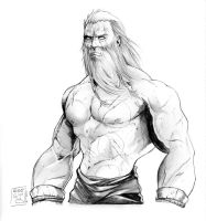 Old Thor by sergiobordon