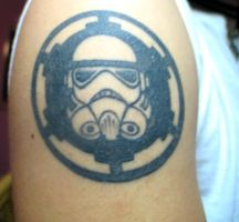 stormtrooper tattoo by themimehunter