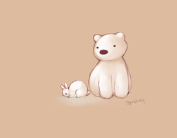 D3: snow buns and baby polar bears by snow-glow