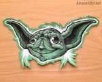 YODA by ArtworkByGeo