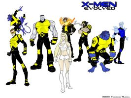 X-Men Redesigns by RevDenton