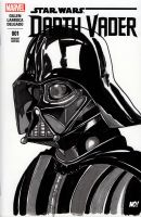 Darth Vader sketch cover by nathanobrien