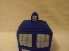 Doctor Who Tardis Top View by o0Hail0o