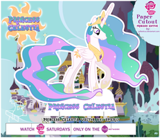 MLP Cut-Out Princess Celestia by Jailboticus