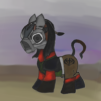 Videogame MLP Crossover - Kabal by dragonfire53511