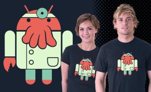 Droidberg shirt by BlaydeXi
