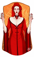 The High Priestess by naomi-makes-art73