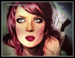Shirley Manson in Biro by zwoman