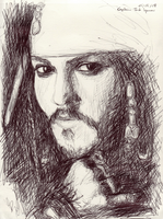 Capt. Jack Sparrow by ArcanePrayer