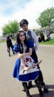 Alice and Dr Bumby _ Alice madness returns cosplay by AlicexLiddell