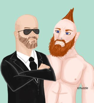 Sheamus/Cesaro by TheChuzzle