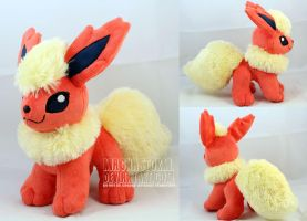 Flareon by MagnaStorm