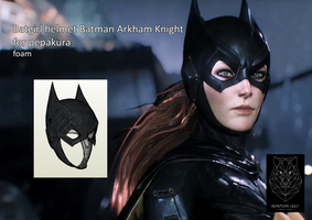 Helmet Batgirl Batman Arkham Knight Foam by BohemianWolfDownlod