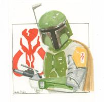 Boba Fett  Bounty Hunter by LauraInglis