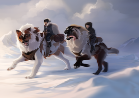 Travelling Companions by sealle