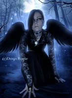 Angel Oscuro by DenysRoqueDesign