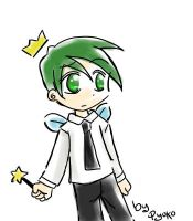 Cosmo Anime Style Again xD by Pyokolee
